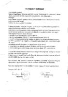 Szerződés Pintér Ferenc